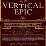 Now Shipping – Stone 08.08.08 Vertical Epic Ale