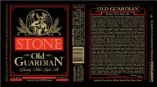 Stone Brewing -Old Guardian 2009