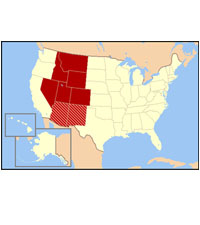 Mountain West States