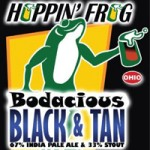 Hoppin' Frog Bodacious Black and Tan
