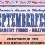 Septemberfest At Paramount Studios!