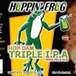 Hoppin' Frog – Hop Dam TRIPLE IPA
