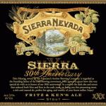 Sierra Nevada 30th Anniversary Fritz & Ken Ale