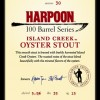 Harpoon 100 Barrel Series #30 Island Creek Oyster Stout