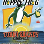 Hoppin' Frog Turbo Shandy Citrus Ale Release This Week