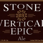 Stone 03.03.03 Vertical Epic Ale (Enjoyed on 12.12.12)