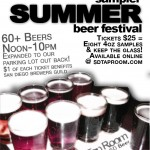 Insane Tap List for Summer Beer Fest at Tap Room in SD