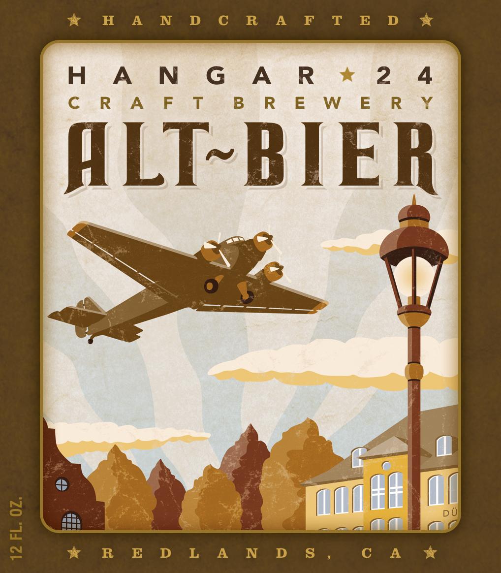 Hangar 24 Brewery – Hangar 24 Alt-Bier – On tap at Hangar 24 – 6 ...