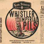 Karl Strauss Whistler Imperial Pils