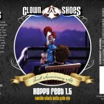 Clown Shoes Beer Hoppy Feet 1.5 Double Black IPA