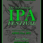 The 3rd Annual IPA Festival @ Naja's Place