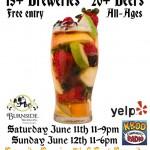 Portland Fruit Beer Festival (poster)