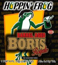 Hoppin Frog Barrel Aged BORIS Royale
