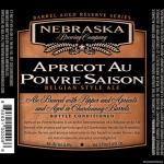 Nebraska Brewing Releases Reserve Apricot au Poivre Saison