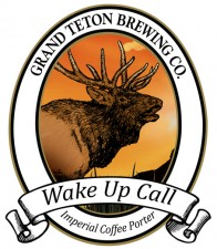 Grand Teton Brewing Company logo featuring an elk