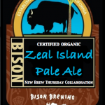 Congrats BMan1113VR – Bison Brewing Releases Organic Zeal Island Pale Ale