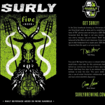 Cellar Report: Surly Five, Firestone XIII, Stone 08.08.08 Vertical Epic and Bruery Marron Acidifie