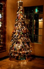 beer can christmas tree
