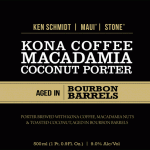 Ken Schmidt / Maui Brewing / Stone Kona Coffee Macadamia Nut Coconut Porter Aged in Bourbon Barrels