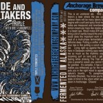 New Brew Thursday : The Tide And Its Takers : Anchorage Brewing Company