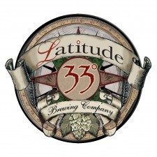 Latitude 33 Brewing Logo