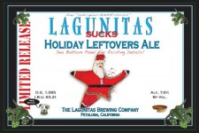 Lagunitas Sucks Holiday Leftovers Ale