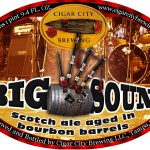 Cigar City Bourbon Barrel Aged Big Sound Scotch Ale
