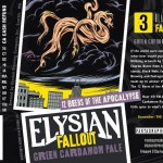 Elysian Releases Fallout Green Cardamom Pale as #3 in Apocalypse Series