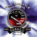 Sebago Releases Full Throttle Double IPA