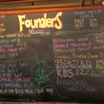 Founders KBS Day 2012 - Tapboard (close)