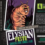 Elysian Releases PESTE Chocolate Chili Ale This Saturday