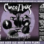 Jolly Pumpkin / Plum Market Collaboration Cinco Anos Available Today
