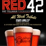 Hungry Monk And Lumberyard Red 42 Fundraiser For The Pat Tillman Foundation