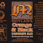 Moylan's Orange & Black Congrats Ale