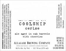 Allagash Coolship Cerise