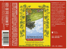New Belgium Somersault