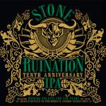 Stone Ruination Tenth Anniversary IPA