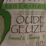 3 Fonteinen Oude Geuze (Armand & Tomme)