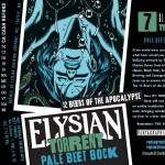 Elysian TORRENT Pale Beet Bock Release Party THIS SATURDAY