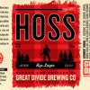 Great Divide Hoss Rye Lager