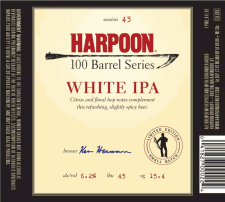 Harpoon 100 Barrel Series White IPA