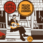 New Belgium Lips of Faith Peach Porch Lounger
