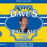 Oskar Blues Dave's Pale Ale?
