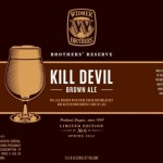Widmer Brothers Reserve Kill Devil Brown Ale