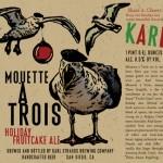 Karl Strauss Mouette à Trois