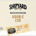 Shipyard Releases First Barrel Aged Beer – Bourbon Barrel Aged Double ESB
