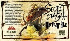 Flying Dog Secret Stash Harvest Ale 2012