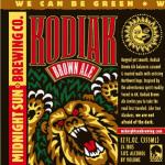 Midnight Sun Kodiak Brown Ale
