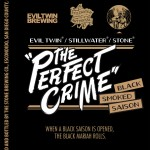 Evil Twin/Stillwater/Stone The Perfect Crime Black Smoked Saison