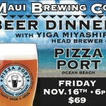 Pizza Port Beer Dinner At Maui Brewing Co. Brewpub